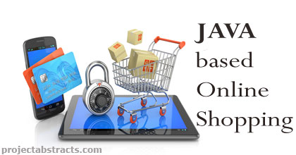 JAVA Based Online Shopping | CSE Final Year Projects