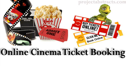 Online Cinema Ticket Booking System in  Net | CSE Final Year Projects