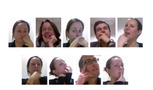 Sample Frames From Videos In The Dataset Cam3d  Showing  Examples  Of  Face  Touches  Present In The Dataset .
