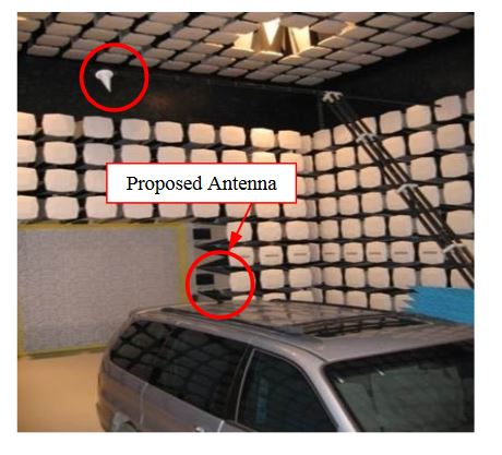 Figure 11. Anechoic chamber in KATECH for antenna measurements