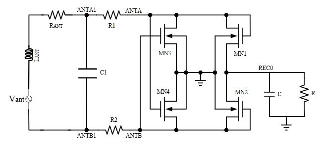 design and implementation of a rf powering circuit for