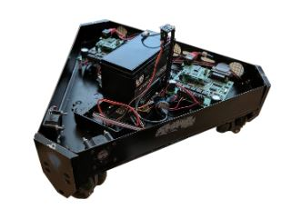Figure 3.1: The Omnibot robot used in testing