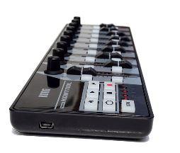 Figure 3: The Korg NanoKontrol MIDI controller
